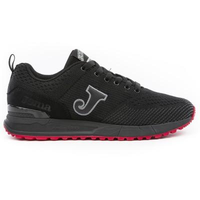 Pantofi sport negri pentru bărbați JOMA C.800 MEN 901 BLACK C.800W-901
