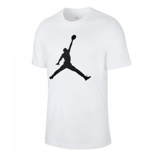 Tricou alb pentru bărbați Nike M J JUMPMANSS CREW CJ0921-100