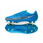 Ghete de fotbal Nike Phantom FG albastre