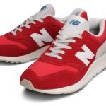 Pantofi sport roșii pentru bărbați NEW BALANCE CM997HBS