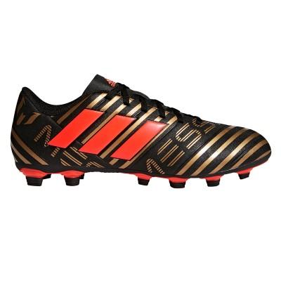 Ghete fotbal negru-roșu pentru bărbați Adidas NEMEZIZ MESSI 17.4 CP9046