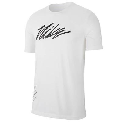 Tricou alb pentru bărbați NIKE M NK DRY TEE DFCT PROJECT X CQ6560-100