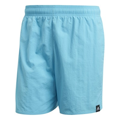 Șort albastru pentru bărbați Adidas SOLID SH SL CV5130