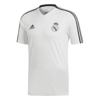 Tricou alb pentru bărbați Adidas REAL TR JSY CW8666