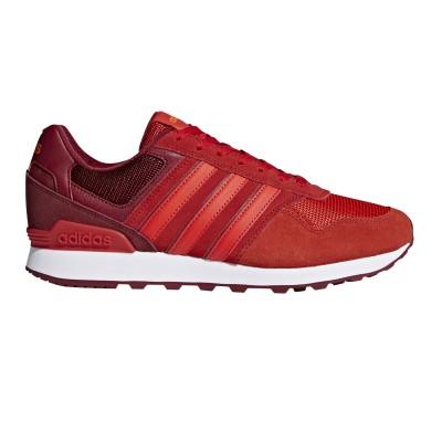 Pantofi sport roșii pentru bărbați Adidas 10K DB0470