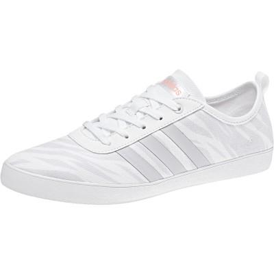 Pantofi sport albi pentru femei Adidas QT VULC 2.0 W  DB1799