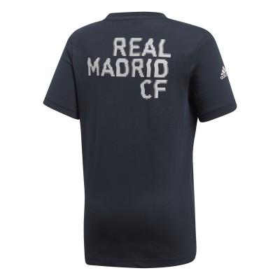 Tricou negru pentru copii Adidas REAL KIDS GRTEE DP2923