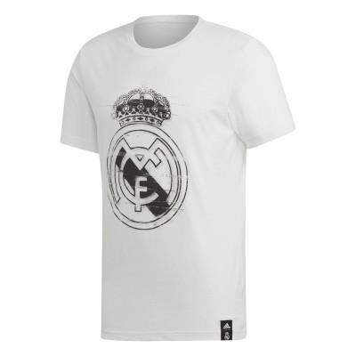 Tricou alb pentru bărbați Adidas REAL 3 JSY DP5445