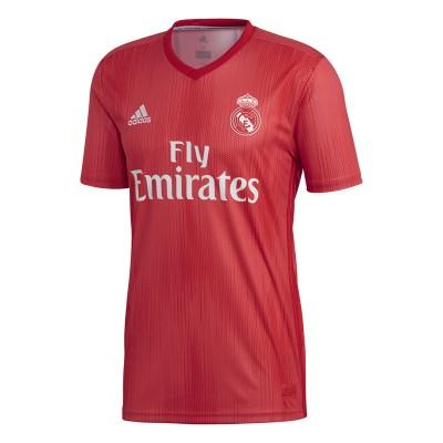 Tricou roșu pentru bărbați Adidas REAL 3 JSY DP5445