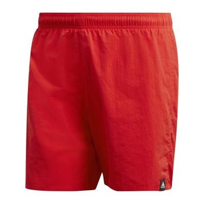 Șort roșu pentru bărbați Adidas SOLID SH SL DQ2973