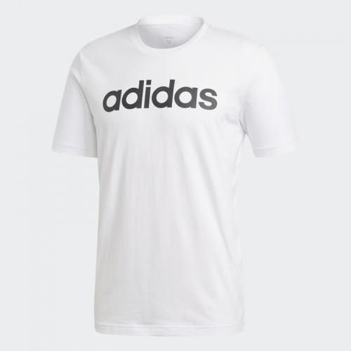Tricou alb pentru bărbați Adidas E LIN TEE DQ3056