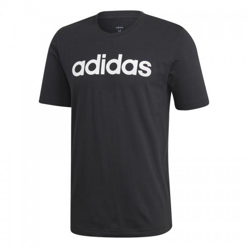 Tricou negru pentru bărbați Adidas E LIN TEE DU0404