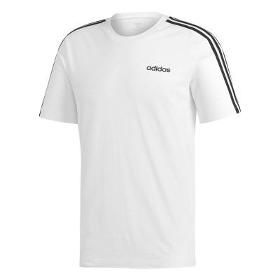 Tricou alb pentru bărbați Adidas E 3S TEE DU0441