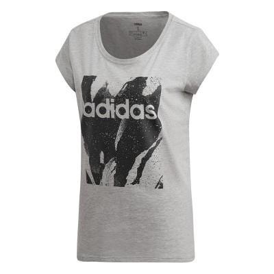 Tricou pentru femei Adidas W E AOP TEE DU0636