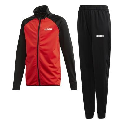 Treining roșu-negru pentru copii Adidas YB TS ENTRY DV1743
