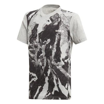 Tricou pentru copii Adidas YB E AOP PR TEE DV1765