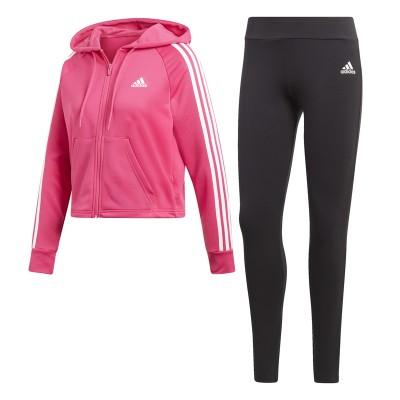 Treining roz pentru femei Adidas WTS HOODY TIGHT DV2421