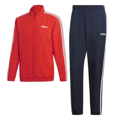Trening negru-roșu pentru bărbați Adidas MTS 3S WV C DV2465
