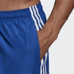 Șort albastru pentru bărbați Adidas 3S SH VSL DY6408