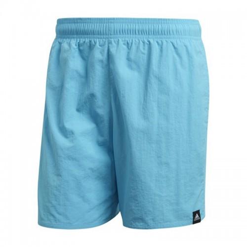 Pantaloni scurți albaștri pentru bărbați Adidas SOLID SH SL DY6409
