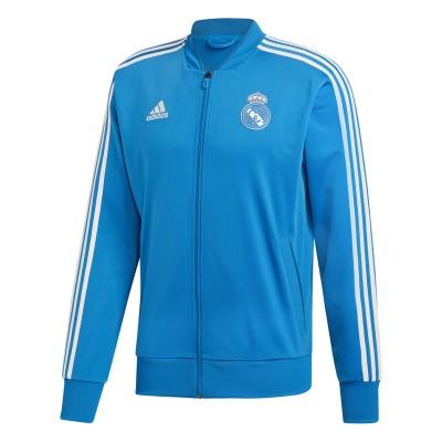 Bluză sport albastră Adidas REAL PES JKT DZ9310