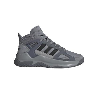 Pantofi sport gri pentru bărbați Adidas STREETSPIRIT EE9978
