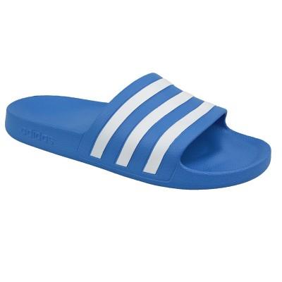 Șlapi albaștri pentru bărbați Adidas ADILETTE AQUA F35541