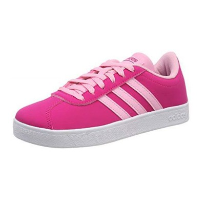 Pantofi sport roz Adidas VL COURT 2.0 K F36382
