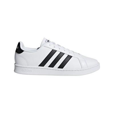 Pantofi sport albi pentru bărbați Adidas GRAND COURT F36392