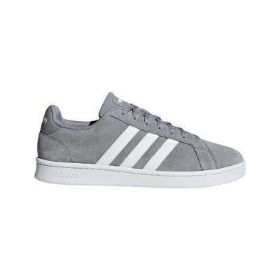 Pantofi sport gri pentru bărbați Adidas GRAND COURT F36412