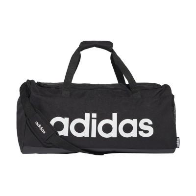 Geantă sport neagră Adidas LIN DUFFLE M FL3651