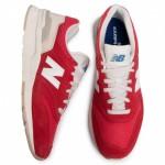 Pantofi sport roșii NEW BALANCE GR997HBS