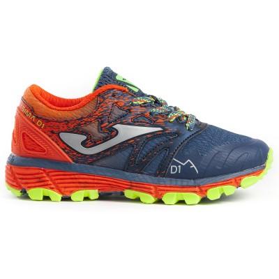 Pantofi sport bleumarin-portocaliu pentru copii JOMA J.SIMAS-903 JR