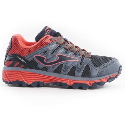 Pantofi sport gri-roz pentru copii JOMA J.TREKS-912 JR.GREY-PINK