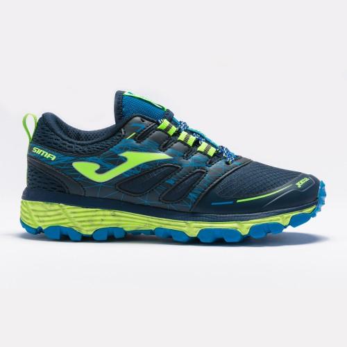 Adidași Joma SIMA JR albastru-bleumarin-verde pentru alergare
