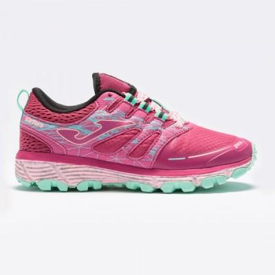 Adidași Joma SIMA JR roz-verde pentru alergare