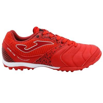Ghete fotbal roșii pentru bărbați JOMA DRIBLING 836 RED TURF DRIS.836.TF