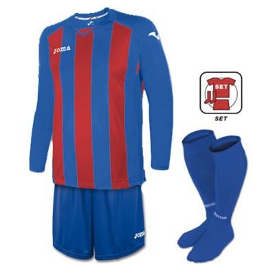 Echipament fotbal albastru-vișiniu JOMA PISA SET 3202.99.015
