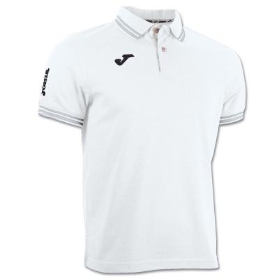 Tricou alb pentru bărbați JOMA POLO BALI 3007S13.20
