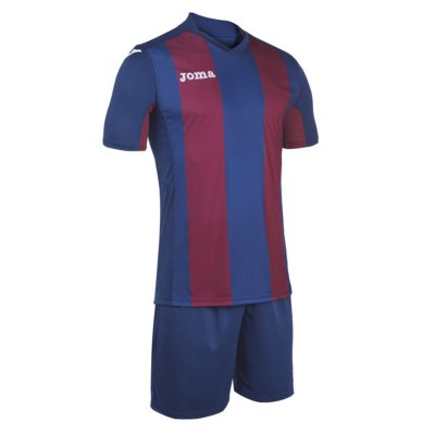 Echipament fotbal bleumarin-roșu JOMA SET PISA 100439.365