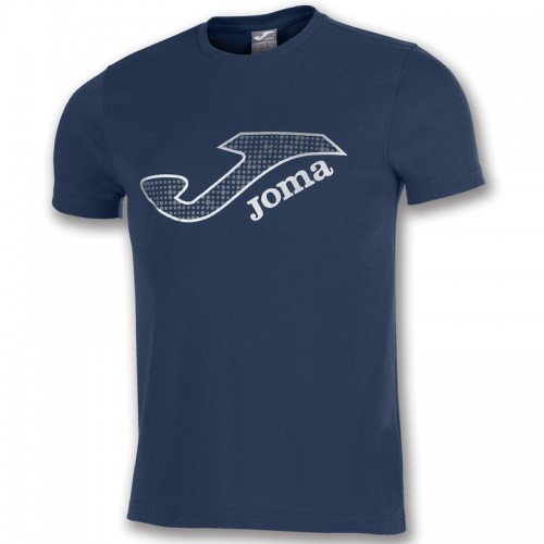 Tricou bleumarin bumbac logo  JOMA MARSELLA 100914.331