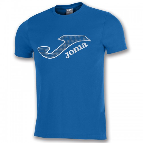 Tricou albastru bumbac logo  JOMA MARSELLA  100914.700