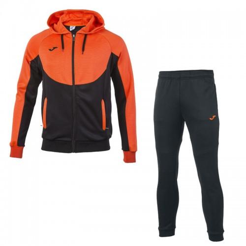 Trening portocaliu-negru cu glugă pentru bărbați JOMA ESSENTIAL 101019.120