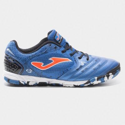 Pantofi sport albaștri pentru bărbați JOMA LIGA 5 805 LIGAW.805.IN ROYAL INDOOR