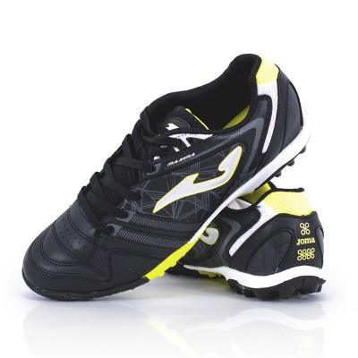 Pantofi sport negri pentru bărbați JOMA MAXIMA 801 BLACK TURF MAXW.801.TF