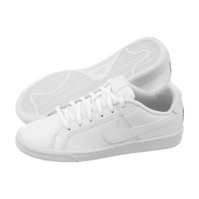 Pantofi sport albi pentru femei Nike COURT ROYALE (GS)  833535-102