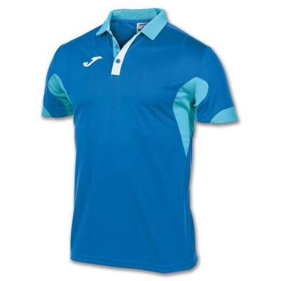 Tricou albastru-turquoise pentru bărbați JOMA POLO MASTER