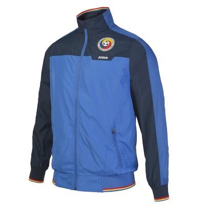 Jachetă sport albastră pentru copii JOMA ZIP FREE ROMANIA 100319703