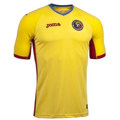 Tricou galben pentru copii JOMA 1a S/S F.A. ROMANIA 101011.16