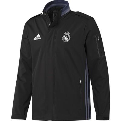 Jachetă neagră pentru bărbați Adidas REAL TRAVEL JKT AO3113